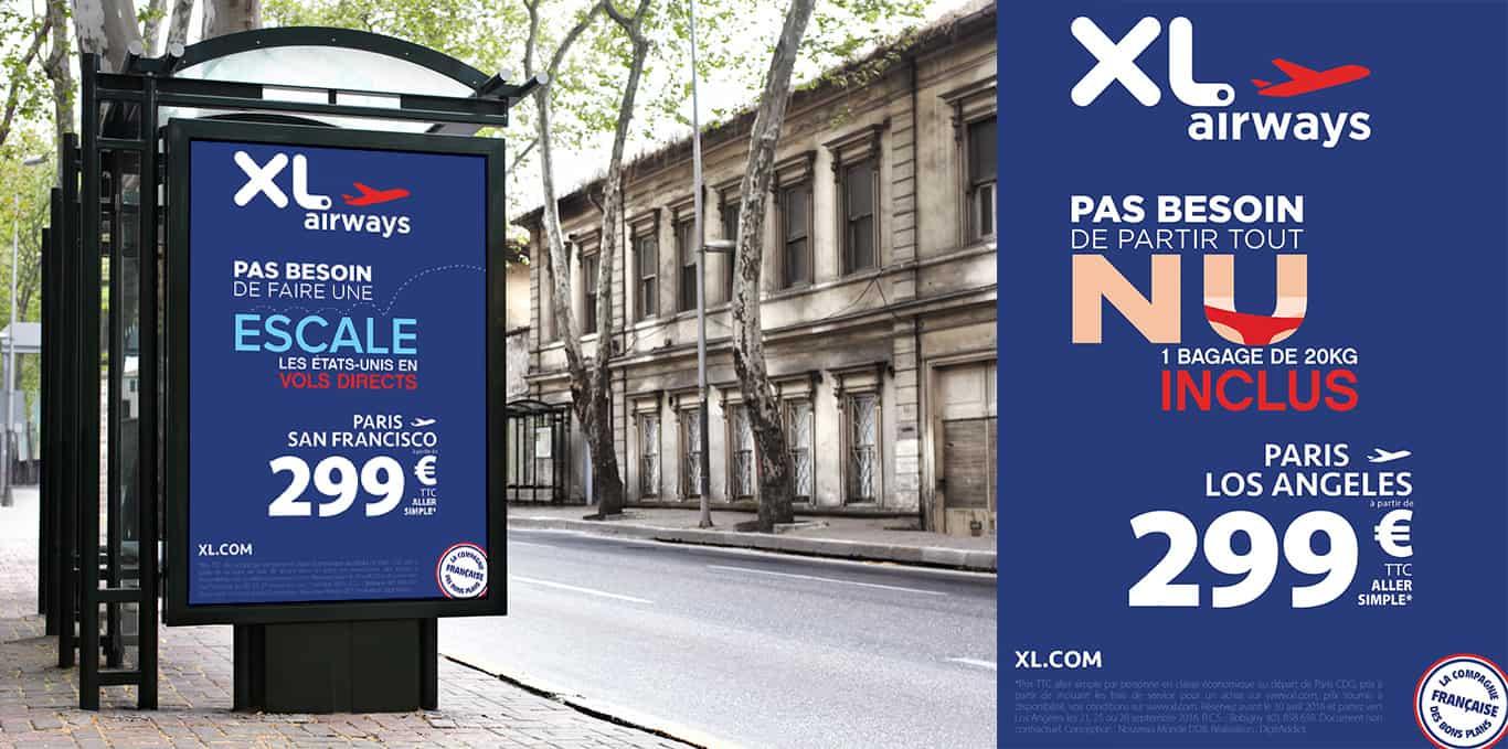 Affiche Print XL Airways